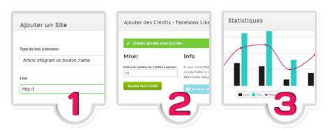 SocialBoost - Booster ses Fans Facebook, Twitter Followers & SoundClound, Google +1, Vues / Likes / Abonnés Youtube, Ecoutes Myspace & Skyblog, Trafic web.